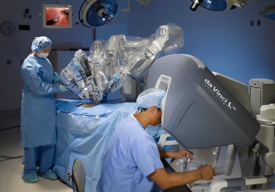 cirugía robótica asistida para el cáncer de próstata