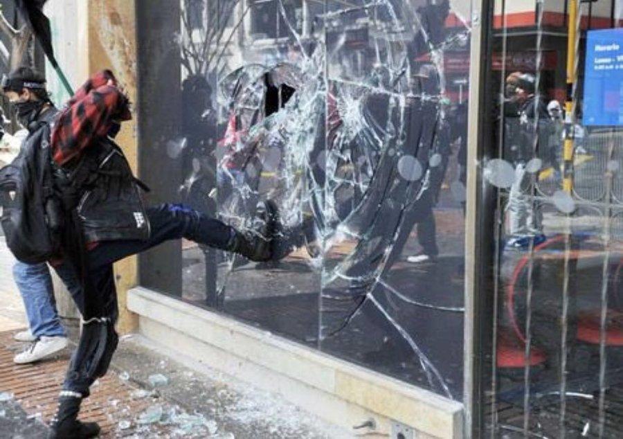 Violencia en marchas pacíficas | Revista Enfoque